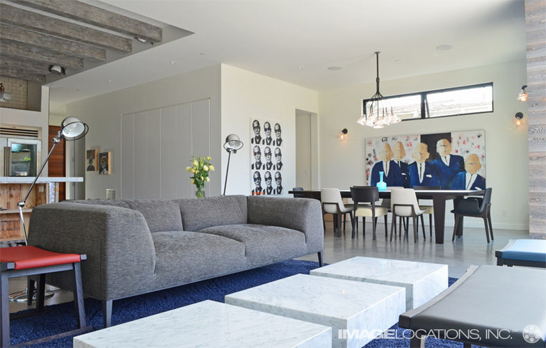 Studio 654 open plan living spaces - Open plan living small spaces ...